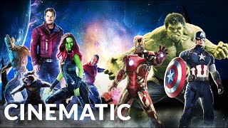 Guardians of The Galaxy Meet Avengers | Infinity War Part1 | Best Of Epic Cinematic | Powerful Music