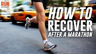 How to Recover After A Marathon