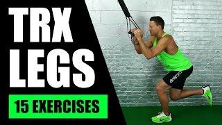 15最好的TRX練習| TRX懸掛訓練腿部運動,用於H繩,屁股,大腿 出處 Max's Best Bootcamp