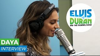 Daya on The Chainsmokers, High School, and New Album | Elvis Duran Show