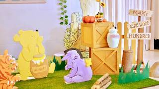 Winnie The Pooh Themed Party By Party Dish- Event Styling