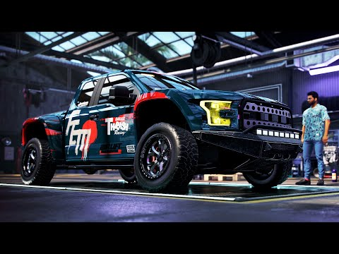 NEED FOR SPEED HEAT 4K ULTRA - FORD F-150 RAPTOR LE | CUSTOMIZATION AND GAMEPLAY