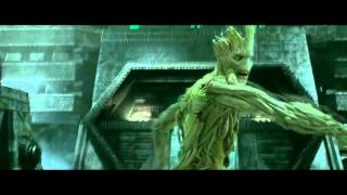 """Music Video: Guardians Of The Galaxy: """"Hooked On A Feeling"""" [HQ]"""