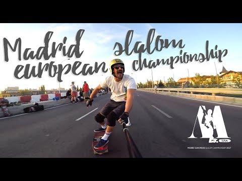 Madrid European Slalom Championship 2017