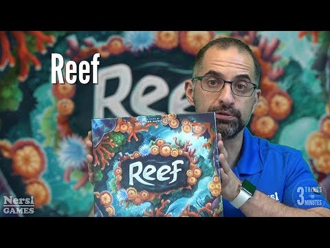 3 Things in 3 Minutes: Reef Review