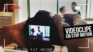 VLOG: Produzindo um videoclipe em stop motion
