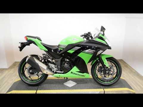 2013 Kawasaki Ninja® 300 in Wauconda, Illinois - Video 1