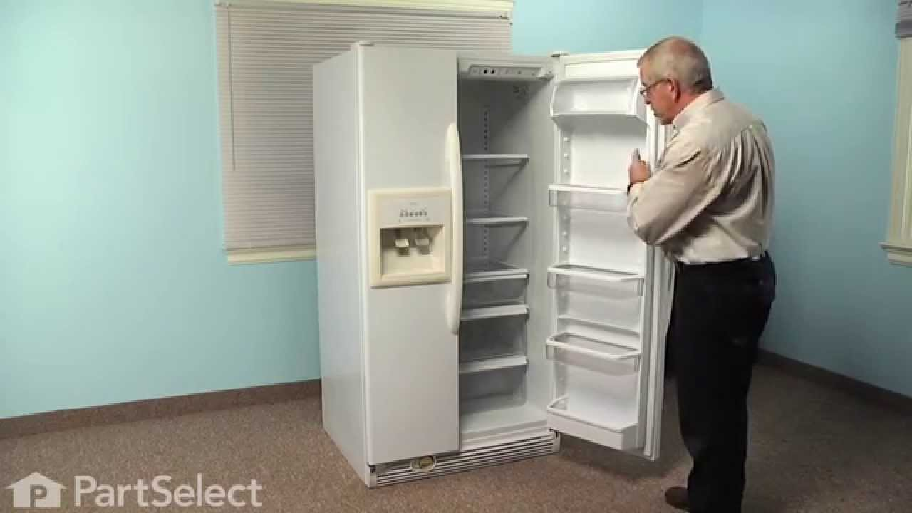 Replacing your Whirlpool Refrigerator Door Cam - Black