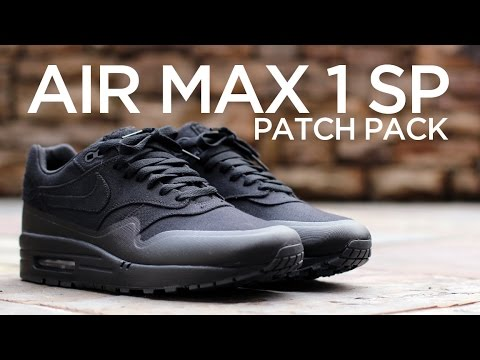 Closer Look: Nike Air Max 1 SP Patch - Black