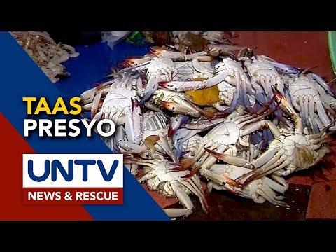 [UNTV]  Mahigit P100/kg, itinaas ng presyo ng seafoods sa Albay