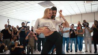 Kiko & Christina dancing Bachata Sensual @ Masters of Bachata / Aventura - Yo quisiera amarla