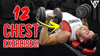 12 Best CHEST Exercises For Bigger Pecs