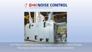 SONEX®  T - Schallschutz für Transformatoren