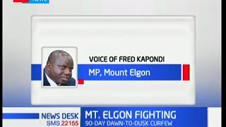 How curfew is affecting the lives of people around Mount Elgon