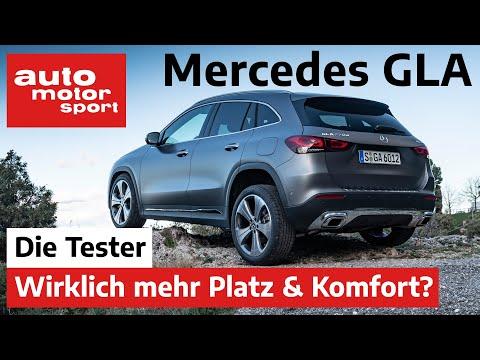 Mercedes GLA 220d: Mehr Platz und Komfort als der Vorgänger? - Test/Review | auto motor und sport