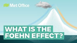 What is the foehn effect?