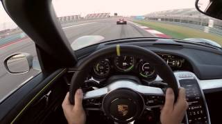 Porsche 918 Chasing another 918 at COTA - APEX Teaser