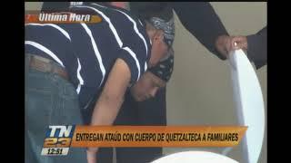 Entregan ataúd con cuerpo Claudia Gómez a familiares