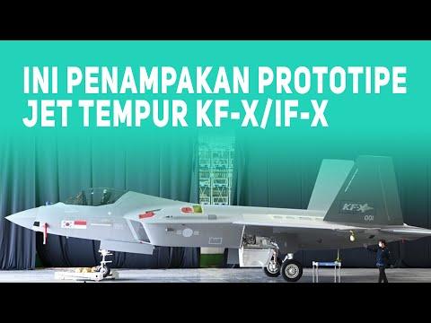 Ini Penampakan Prototipe Jet Tempur KF-X/IF-X