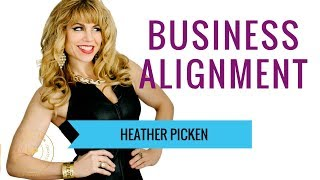 Business alignment. How do you know if you're on track or off course?