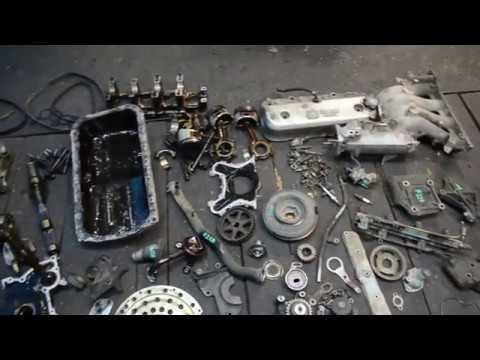 Разбор двигателя F22B
