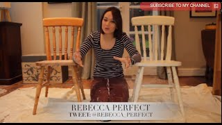 How To Create Shabby Chic Furniture - Painting Your Wooden Chair