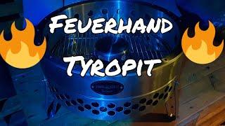 Feuerschale aus Edelstahl Tyropit von Feuerhand