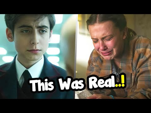 5 Scenes Where The Actors Were Not Acting (Aidan Gallagher and Millie Bobby Brown) 😲