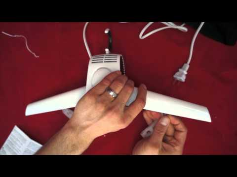 ChiTronic Portable Folding Travel Hanger Dryer Combination