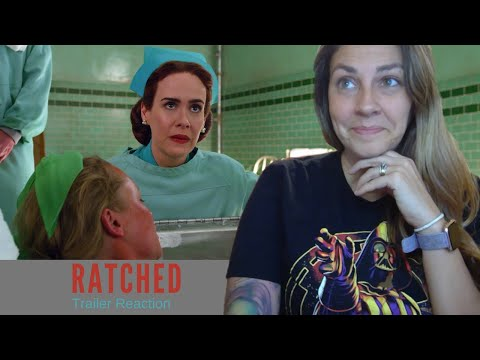 Ratched Season One Official Trailer Reaction (Netflix)