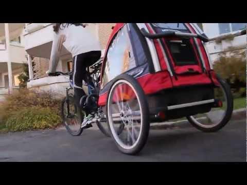 Passeggino Trio Nordic Cab - Rimorchio Bici