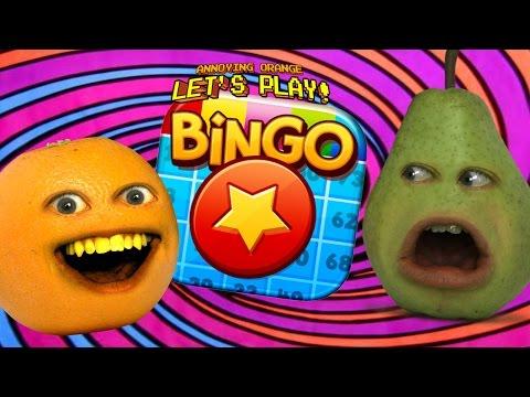 Annoying Orange & Pear Plays - Bingo Pop