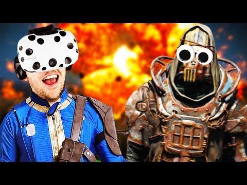 Virtual Reality Raider Raiding! - Fallout 4 VR Gameplay - VR HTC Vive