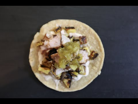 Delicious Pork Tacos with Grilled Pineapple | SAM THE COOKING GUY