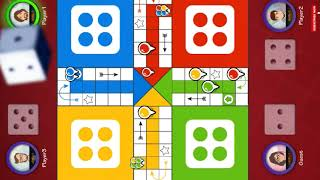Ludo Family Dice Game Me V/S 3 Computers