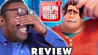 RALPH BREAKS THE INTERNET BROKE ME! Wreck-It Ralph 2 Movie Review
