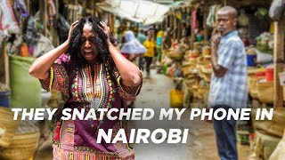 They Snatched My Phone In The streets Of Nairobi Kenya    Vlogging Gone Wrong