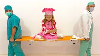 Nastya juega diferentes profesiones mejores historias para quelos niños aprendan profesiones