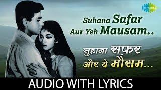 Suhana Safar Aur Yeh Mausam Haseen with lyrics   - YouTube
