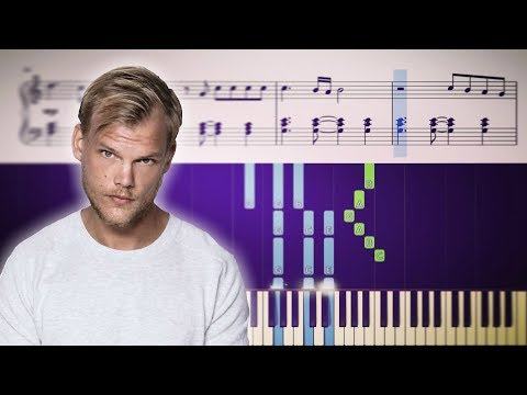 TOUGH LOVE (Avicii Feat. Agnes, Vargas & Lagola) - Piano Tutorial + SHEETS