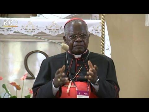 Catéchèse JMJ du cardinal Monsengwo Pasinya