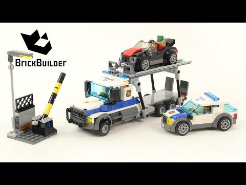 Vidéo LEGO City 60143 : Le braquage du transporteur de voitures