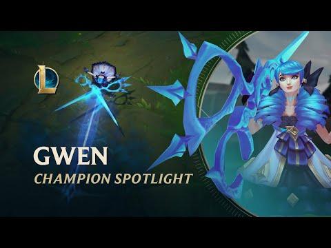 Gwen Champion Spotlight | Gameplay - League of Legends