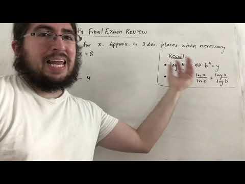 Finite Math Final Exam Review