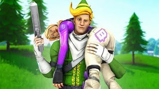KILLING Twitch Streamers with CODENAME ELF #2 (with reactions) in Fortnite