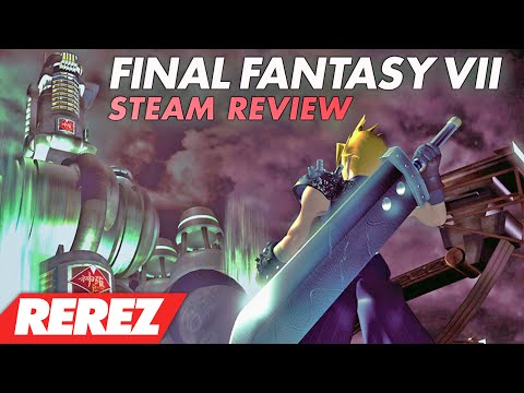 Final Fantasy 7 Steam Release Comparison & Review - Rerez