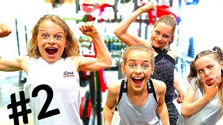 THE STRONGEST KIDS GYM GAMES Little Kids VS Big Kids Challenge 2 By The Norris Nuts
