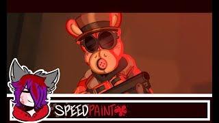 - The Late Ringer - [My favorite scene redraw/Speedpaint]