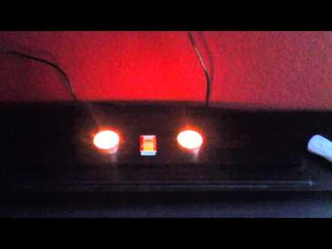 Nintendo Wii - Sensorleiste durch Teelichter ersetzen
