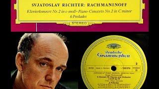 Rachmaninov / S. Richter, 1959: Piano Concerto No. 2 in C Minor, Op. 18 - Complete - Wislocki, WPO